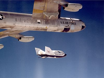 CRV - X-38 Drop Test From B-52 - Image Courtesy of NASA